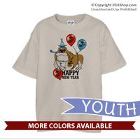 _T-Shirt (Youth): Semper Fido New Years