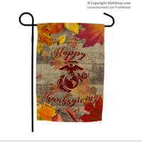 Garden Flag: Happy Thanksgiving with EGA