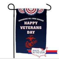 Garden Flag: Veterans Day