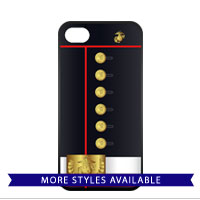 Cell Phone Cover: Dress Blue Uniform
