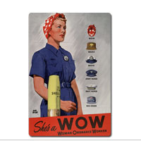 Vintage Sign: WOW