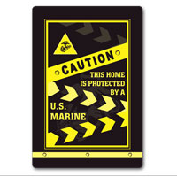 _Sign, Metal (12x18): Caution