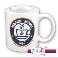 Ceramic Mug: Marine Moms Cafe