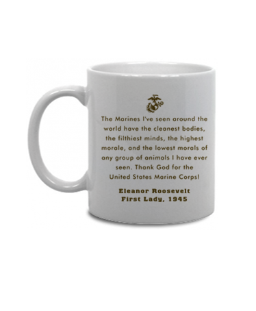 Eleanor Roosevelt Quotes Marines Prepossessing Mugs & Steins Us Marines With Quotes