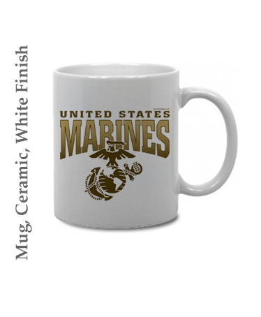 Mugs & Steins: US Marines with Quotes