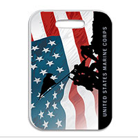 Luggage Tag: Iwo Jima