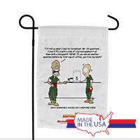 Garden Flag (Made in USA): SemperToons - 20 Questions