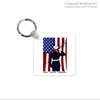 Key Chain: SemperToons - For Country
