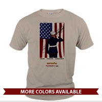 _T-Shirt (Unisex): SemperToons - For Country