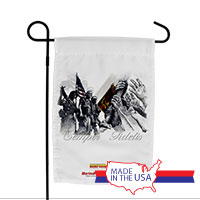 Garden Flag (Made in USA): SemperToons - Semper Fidelis