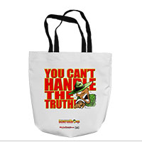 Tote Bag: SemperToons - The Truth (16x16)
