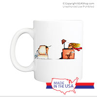 Mug (Made in USA): SemperToons - TV