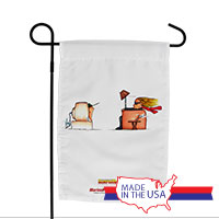 Garden Flag (Made in USA): SemperToons - TV