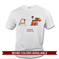 _T-Shirt (Unisex): SemperToons - TV