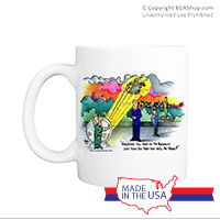 Mug (Made in USA): SemperToons -Mr. President