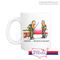 Mug (Made in USA): SemperToons -1st Sgt Say