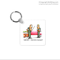 Key Chain: SemperToons - 1st Sgt Say
