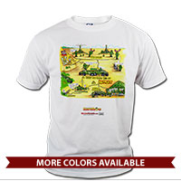 _T-Shirt (Unisex): SemperToons - Battery in the Field