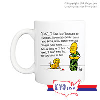 Mug (Made in USA): SemperToons - Dog What to Do