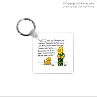 Key Chain: SemperToons - Dog What to Do
