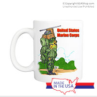 Mug (Made in USA): SemperToons - USMC