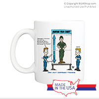 Mug (Made in USA): SemperToons - Pain Chart