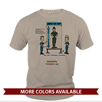 _T-Shirt (Unisex): SemperToons - Pain Chart