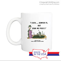 Mug (Made in USA): SemperToons - Send Pies