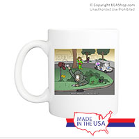 Mug (Made in USA): SemperToons - Mailman