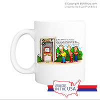 Mug (Made in USA): SemperToons - Hard Corps ATM