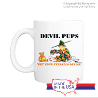 Mug (Made in USA): SemperToons - Devil Pups