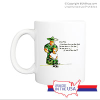 Mug (Made in USA): SemperToons - Dear Mom