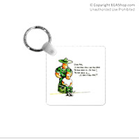 Key Chain: SemperToons - Dear Mom
