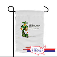 Garden Flag (Made in USA): SemperToons -Dear Mom