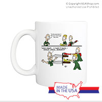 Mug (Made in USA): SemperToons - In the Band