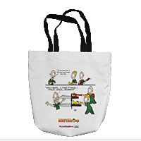 Tote Bag: SemperToons - In the Band (16x16)