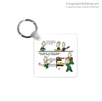 Key Chain: SemperToons - In the Band