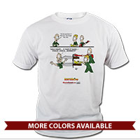 _T-Shirt (Unisex): SemperToons - In the Band