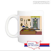 Mug (Made in USA): SemperToons - Break Glass
