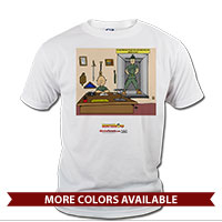 _T-Shirt (Unisex): SemperToons - Break Glass
