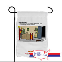 Garden Flag (Made in USA): SemperToons -Boogie Man