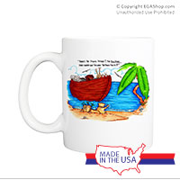 Mug (Made in USA): SemperToons - Ark
