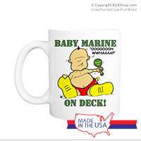 Mug (Made in USA): SemperToons - Baby Marine