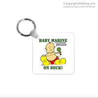 Key Chain: SemperToons - Baby Marine