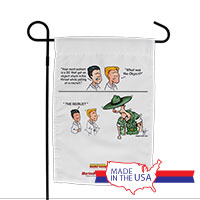 Garden Flag (Made in USA): SemperToons -DI Object