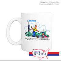 Mug (Made in USA): SemperToons - Superman