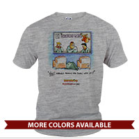 _T-Shirt (Unisex): SemperToons - Born into it