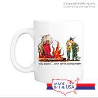 Mug (Made in USA): SemperToons - Recruit, What You Waiting For?