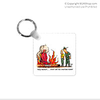 Key Chain: SemperToons - Recruit, What You Waiting For?
