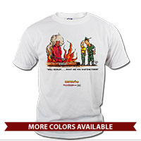 _T-Shirt (Unisex): SemperToons - Recruit, What You Waiting For?